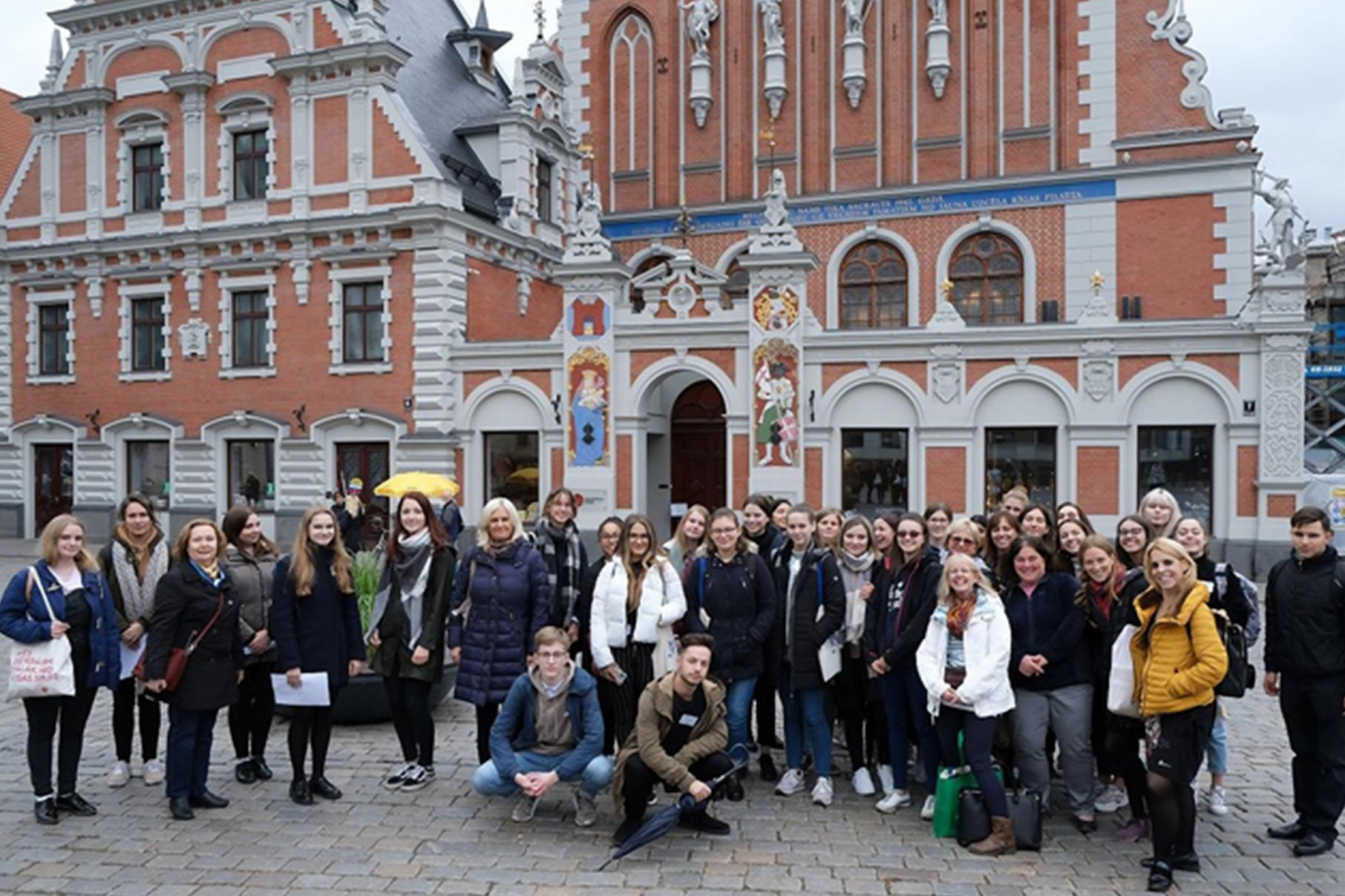 Erasmus+-Treffen in Riga