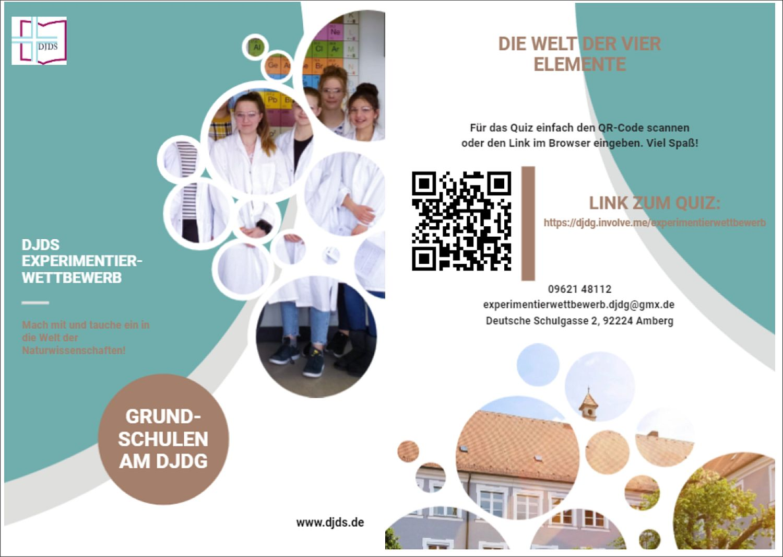 Experimentierwettbewerb für Grundschulen 2021